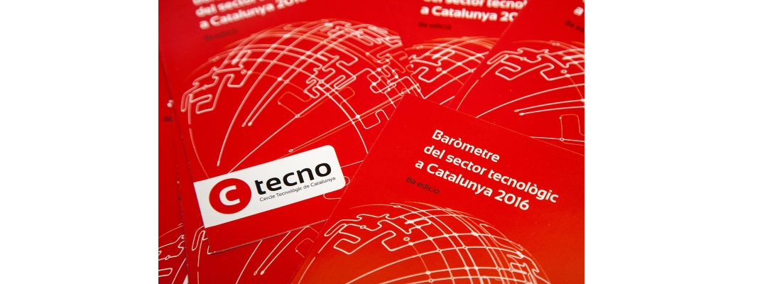 Published the new barometer of the technology sector in Catalonia 2016 by CTecno