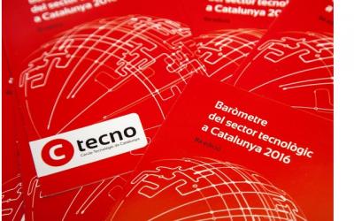 Publicado el nuevo barómetro del sector tecnológico de Cataluña 2016 por CTecno